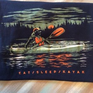 Kayak short sleeve tee shirt